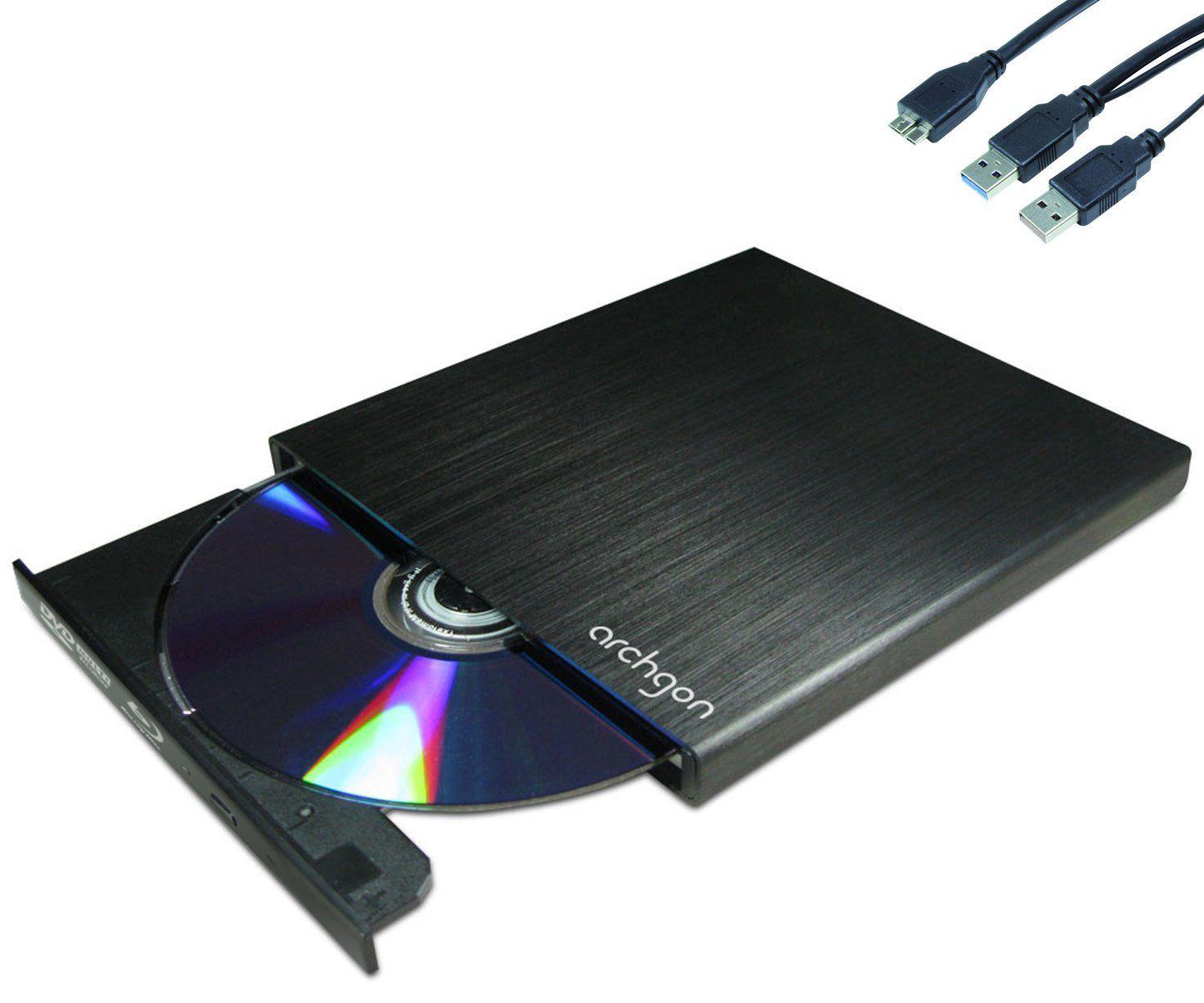 Archgon MD-3107S-U3BDRW externer Blu-Ray Brenner